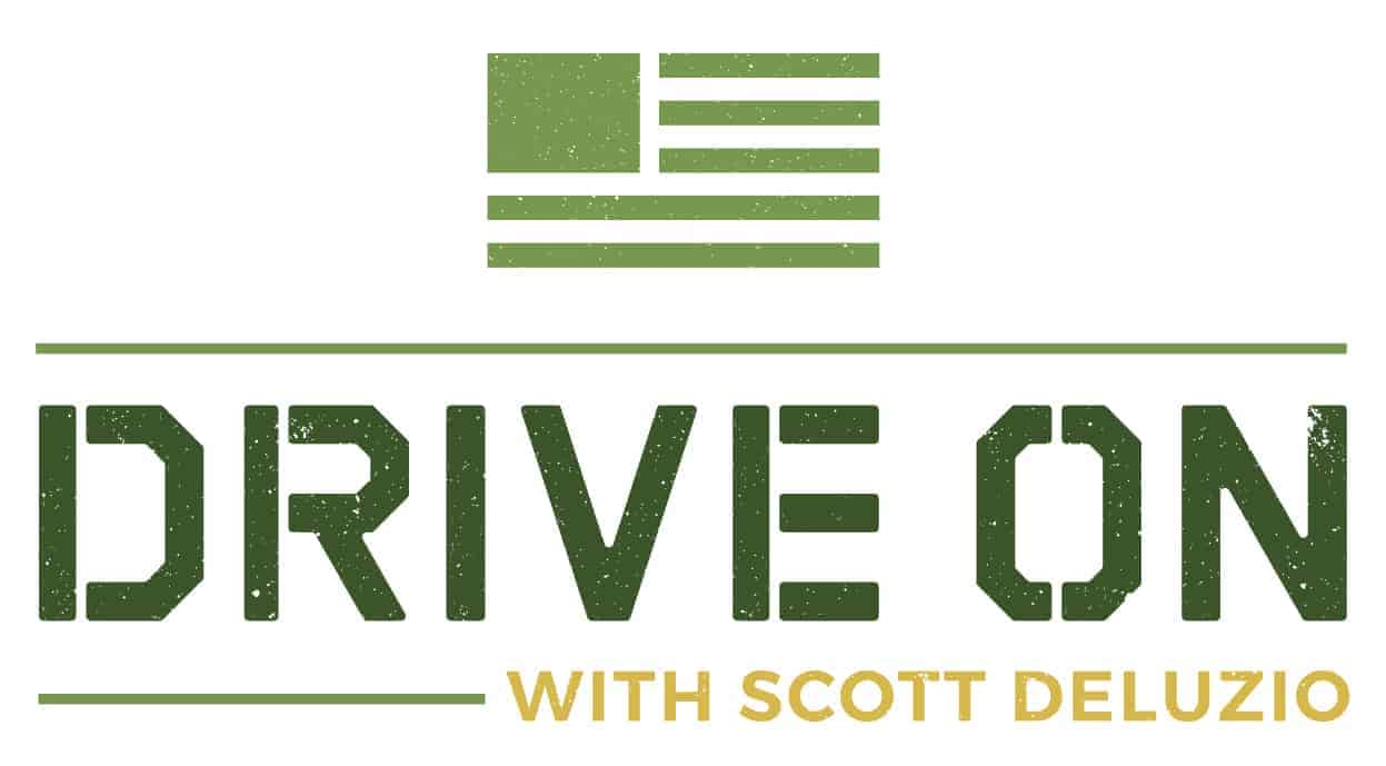 Drive On Podcast Horizontal Colored Solid Logo